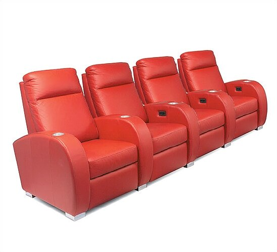 Olympia Home Theater Seating (Row Of 4) By Bass