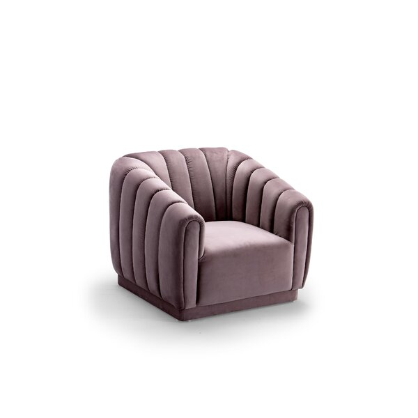 Darley Barrel Chair by Everly Quinn
