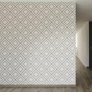 Pixel Diamonds Removable 8' x 20 Geometric Wallpaper