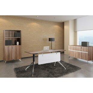 Bergerson 3 Piece Desk Office Suite