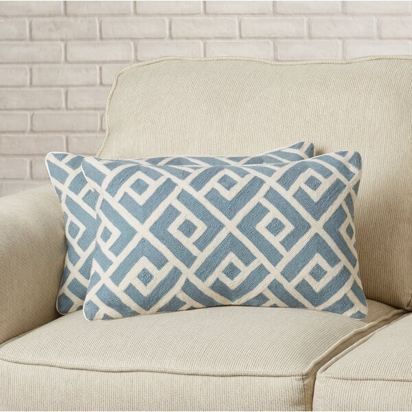 Swifty Lumbar Pillow (Set of 2) by Brayden Studio