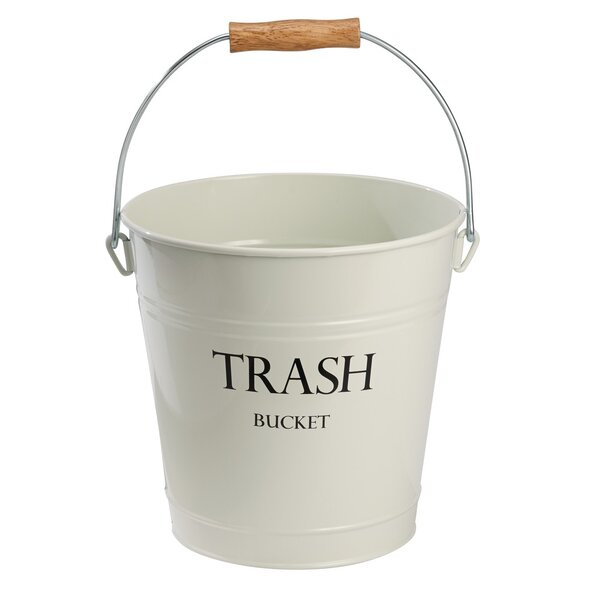 Pail Steel 3.3 Gallon Waste Basket by InterDesign