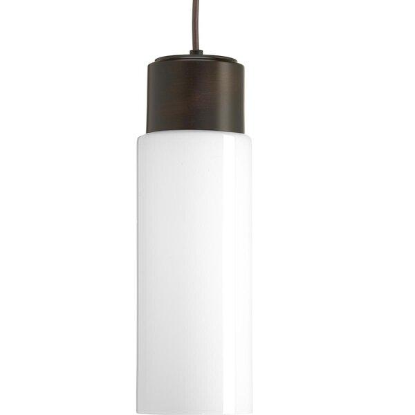 Mcdaniels 1-Light  LED Cylinder Pendant by Ebern Designs