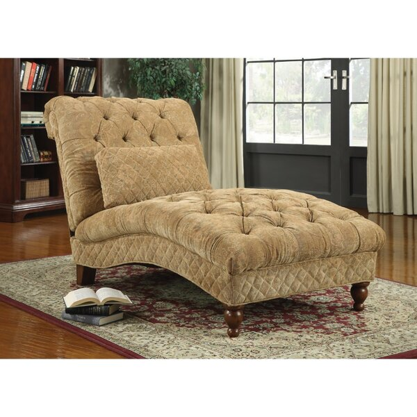 Felda Tufted Upholstered Chaise Lounge by Astoria Grand