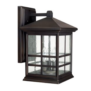 Reviews Macy 3-Light Wall Outdoor Wall Lantern By Latitude Run