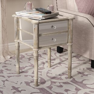 Karle End Table with Storage Willa Arlo Interiors