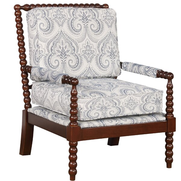 Shellplant Spindal Arm Chair by Bay Isle Home