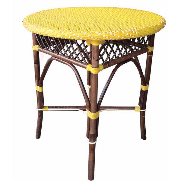 Ridgeton Glass Bar Table by World Menagerie