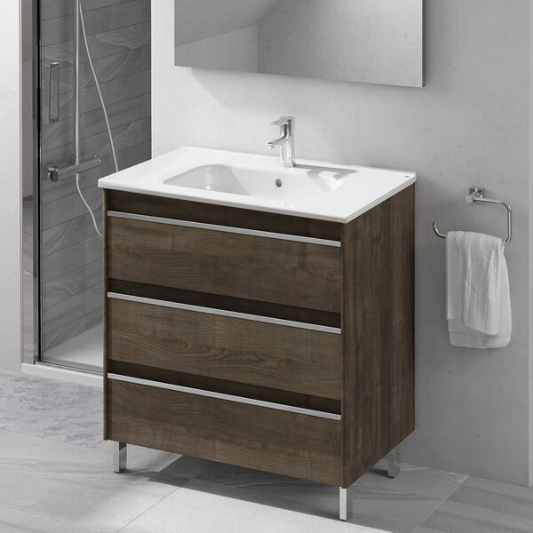Belle 32 Single Bathroom Vanity Set by WS Bath Collections
