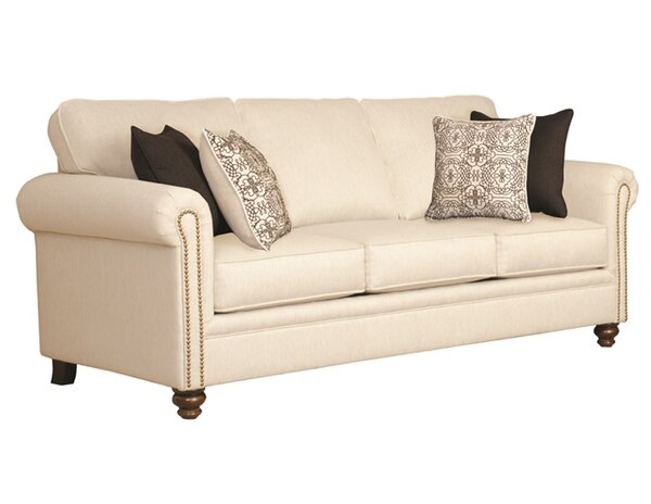 Suffield Serta Upholstery Caroll Sofa by Three Posts