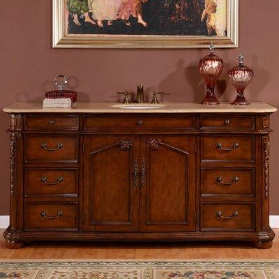 Astoria Grand Vanburen 72 Single Sink Cabinet Bathroom Vanity Set