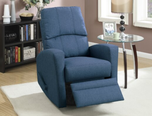 Yeary Manual Swivel Recliner by Ebern Designs