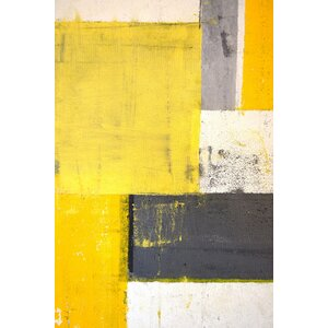 'Fragmentation' Painting Print on Wrapped Canvas by Marmont Hill