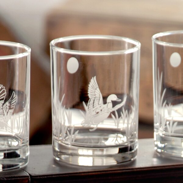 Duck Double Old Fashioned Glass (Set of 4) by Rolf Glass