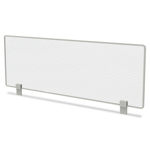 Trento Line Dividing Polycarbonate 1 Panel Room Divider, 15 H x 47 W by Linea Italia