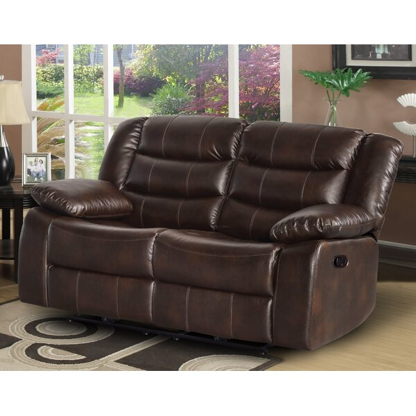 Lowest Priced Trista Reclining Loveseat by Red Barrel Studio by Red Barrel Studio