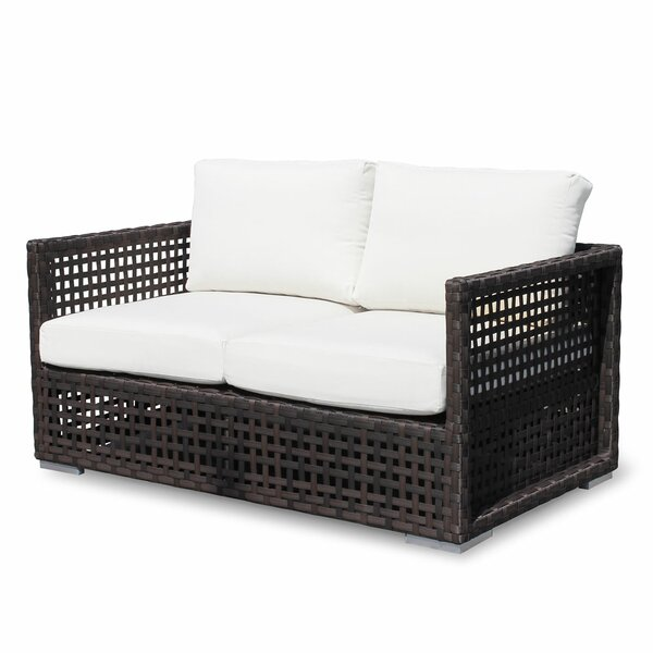 Marianna Loveseat with Cushions by Bay Isle Home Bay Isle Home