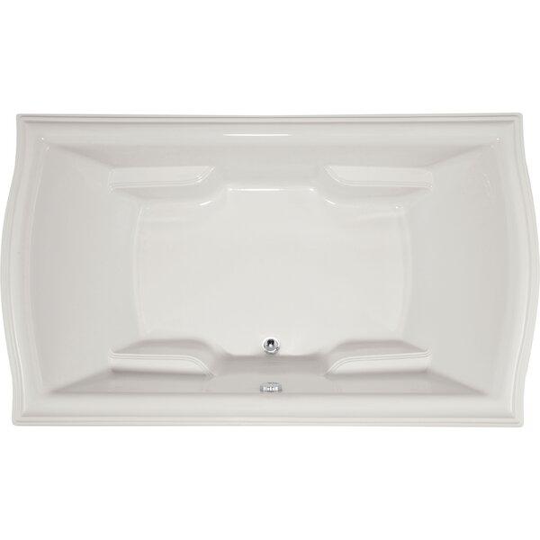 Designer Debra 72 x 42 Soaking Bathtub by Hydro Systems