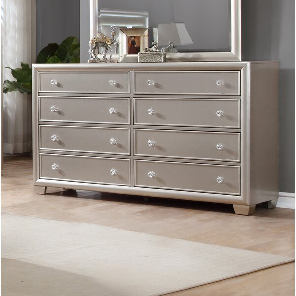 Chumley 8 Drawer Double Dresser by House of Hampton