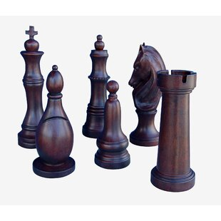 Large Chess Piece Decor | Wayfair