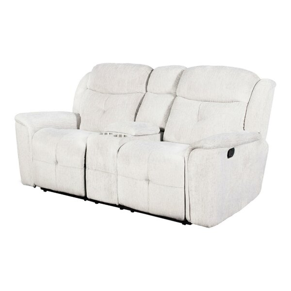Anistyn Reclining 75.25'' Pillow Top Arm Loveseat By Latitude Run