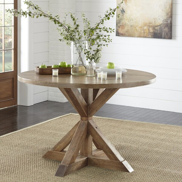 Skyline Pedestal Dining Table by Ophelia & Co.