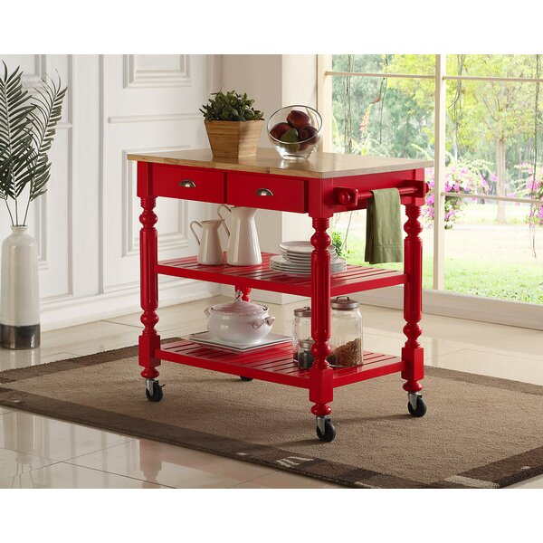 Crigger Kitchen Cart by Charlton Home