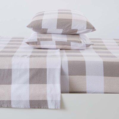 Gracie Oakschamberlayne Geometric 100 Cotton Flannel Sheet Set Gracie Oaks Size Twin Xl Color Gray Dailymail