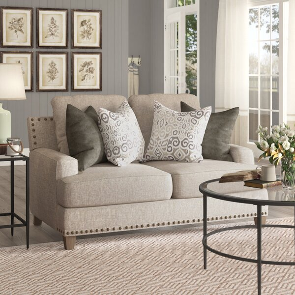 Bulloch Loveseat by Three Posts
