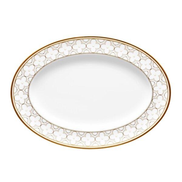 Trefolio Oval Bone China Platter by Noritake