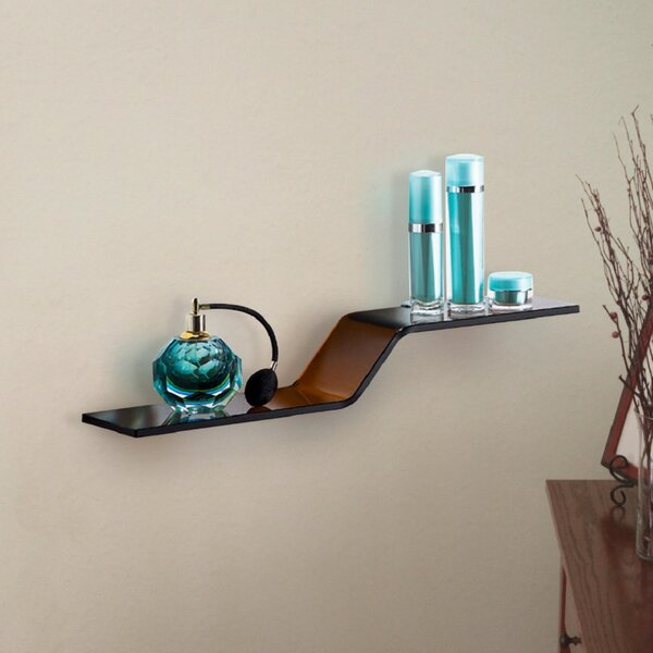 Glass Wall Shelf by Fab Glass and Mirror