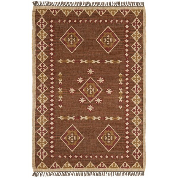 Hacienda Brown/Tan Southwestern Area Rug by St. Croix