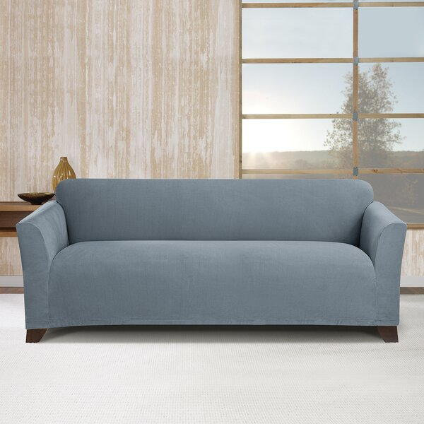 Stretch Morgan Box Cushion Sofa Slipcover By Sure Fit