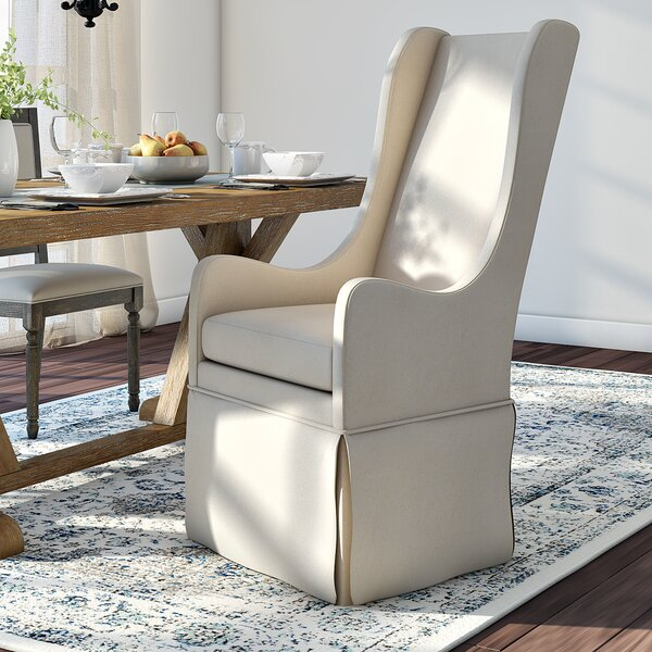Saltash Upholstered Dining Chair by Three Posts