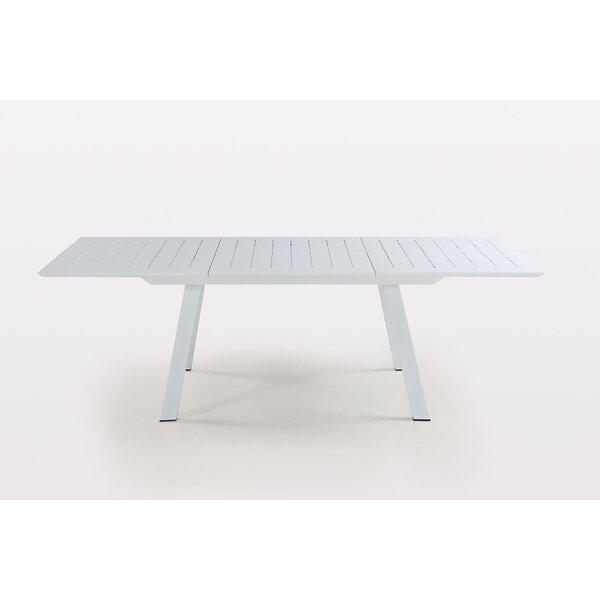 Malibu Metal Dining Table by Latitude Run