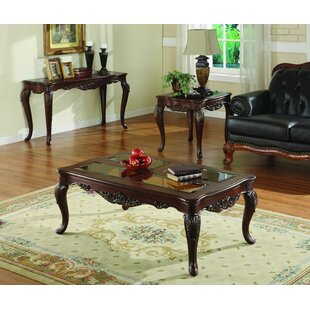 Great Price Montaillou 3 Piece Coffee Table Set ByAstoria Grand