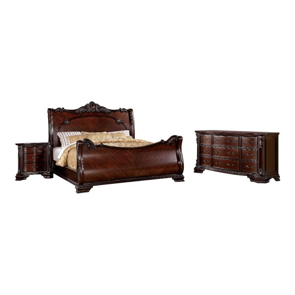 Fussell Sleigh Configurable Bedroom Set by Astoria Grand