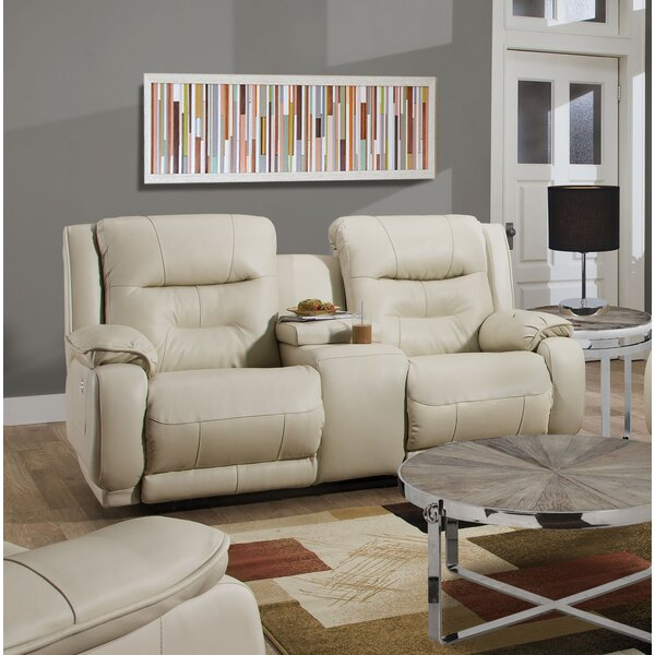 Crescent Reclining Loveseat by Southern Motion