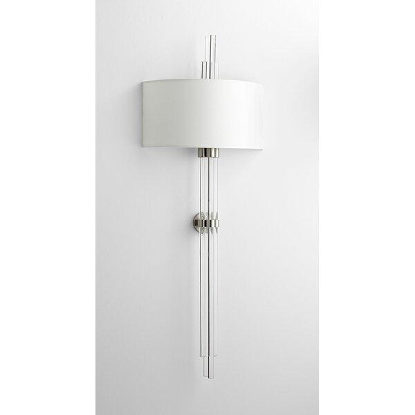 Quebec 2-Light Flush Mount by Cyan Design