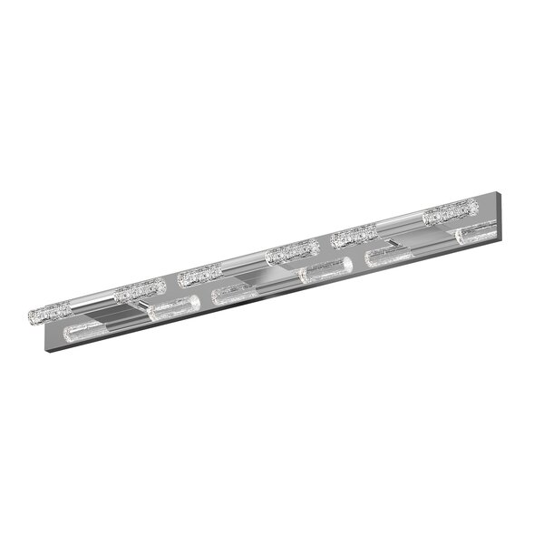 Crystal Rods 6-Light LED Bath Bar by Sonneman