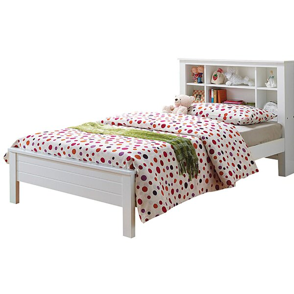 Aubuchon Twin Platform Bed with Bookcase by Harriet Bee
