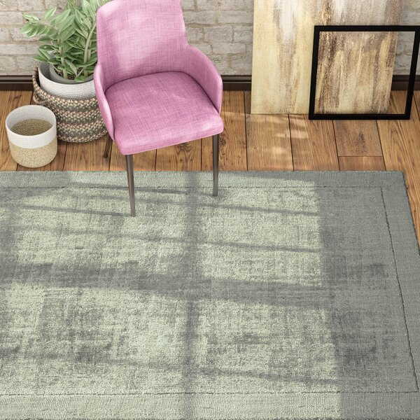 Natalie Hand-Loomed Charcoal Area Rug by Langley Street