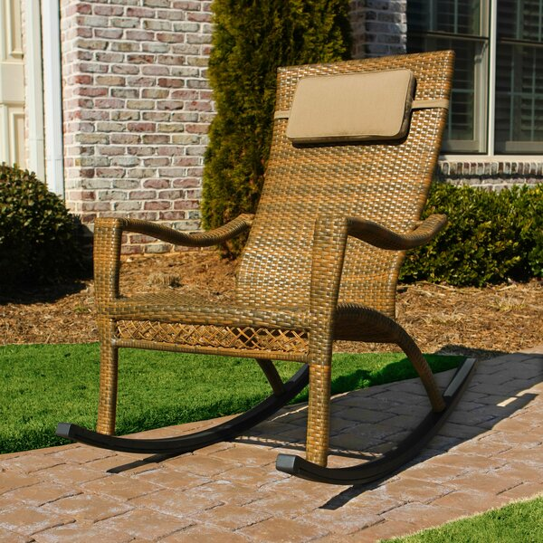 Izetta Rocking Chair with Cushions by Darby Home Co