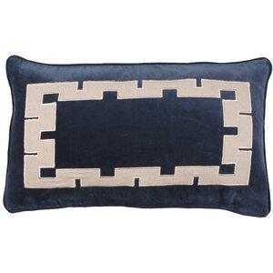 Aegean Key 100% Cotton Lumbar Pillow