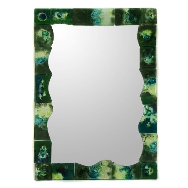 Lush Art Accent Mirror by Novica