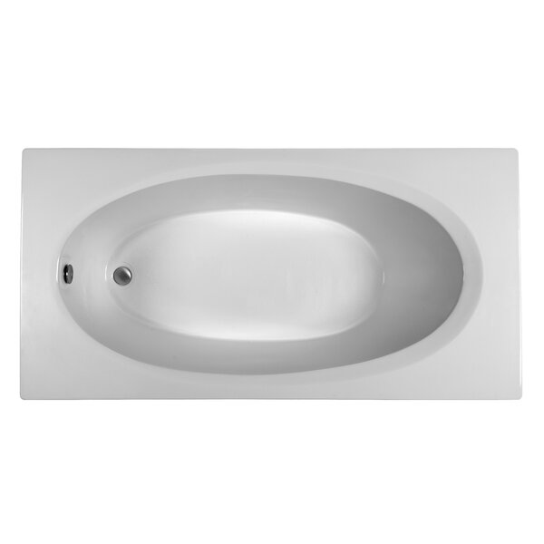Rectangle 71.75 x 35.75 Soaking Bathtub by Reliance