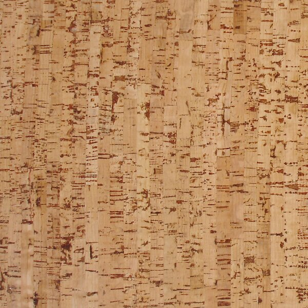 12 Cork Hardwood Flooring in Titan Natural by APC Cork