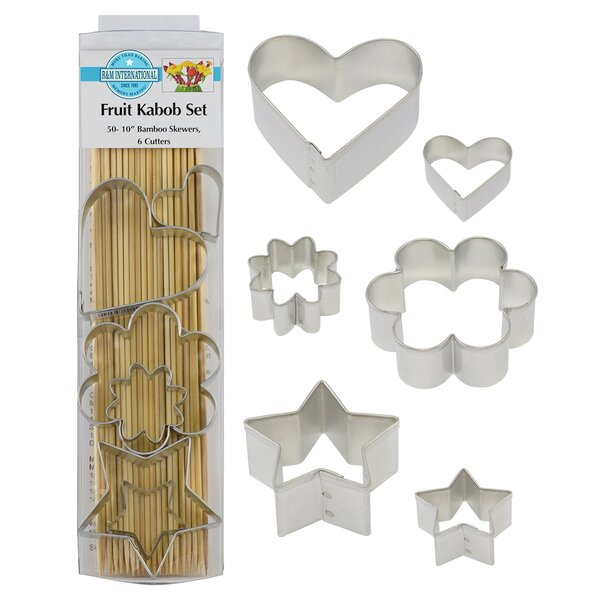 7 Piece Fruit Kabob Set by R & M International Corp.