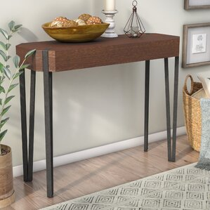 Mikesha Rectangle Console Table by Gracie Oaks