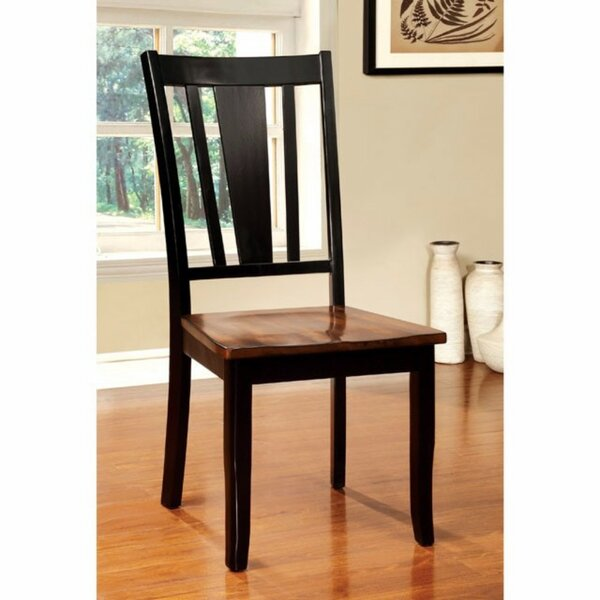 Adalbert Solid Wood Dinning Chair (Set of 2) by Darby Home Co